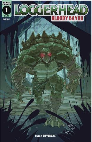 Loggerhead: Bloody Bayou #1 (Ostlie Cover)