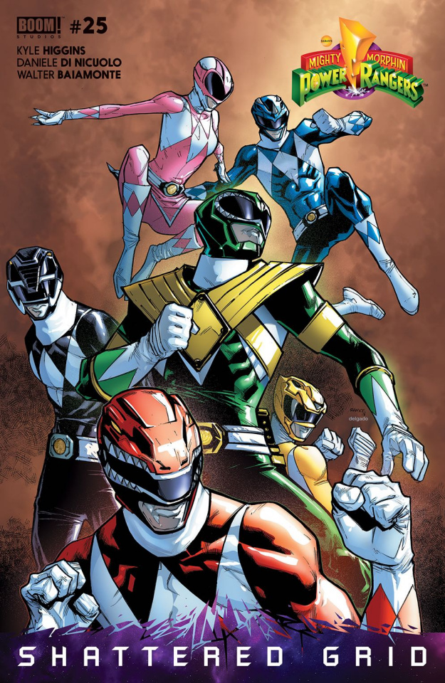 Mighty Morphin' Power Rangers #25 (Unlockable Match To Cover)
