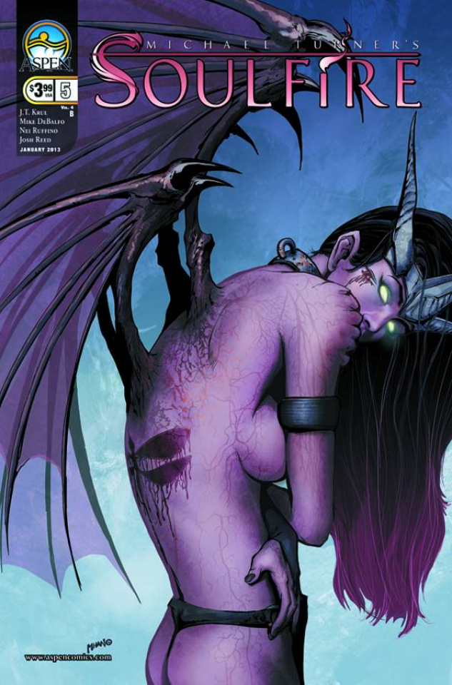 Soulfire #5 (Mhan Cover)
