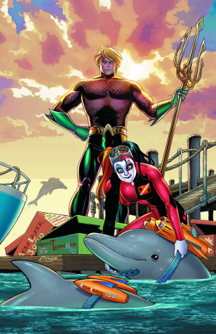Aquaman #39 (Harley Quinn Cover)