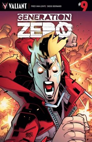 Generation Zero #9 (Lafuente Cover)