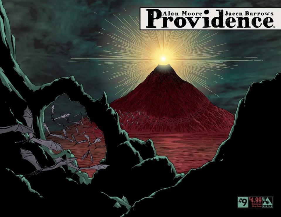Providence #9 (Dreamscape Wrap Cover)