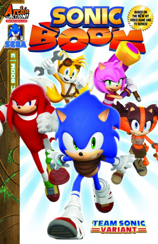 Sonic Boom #3 (Team Sonic Cover)