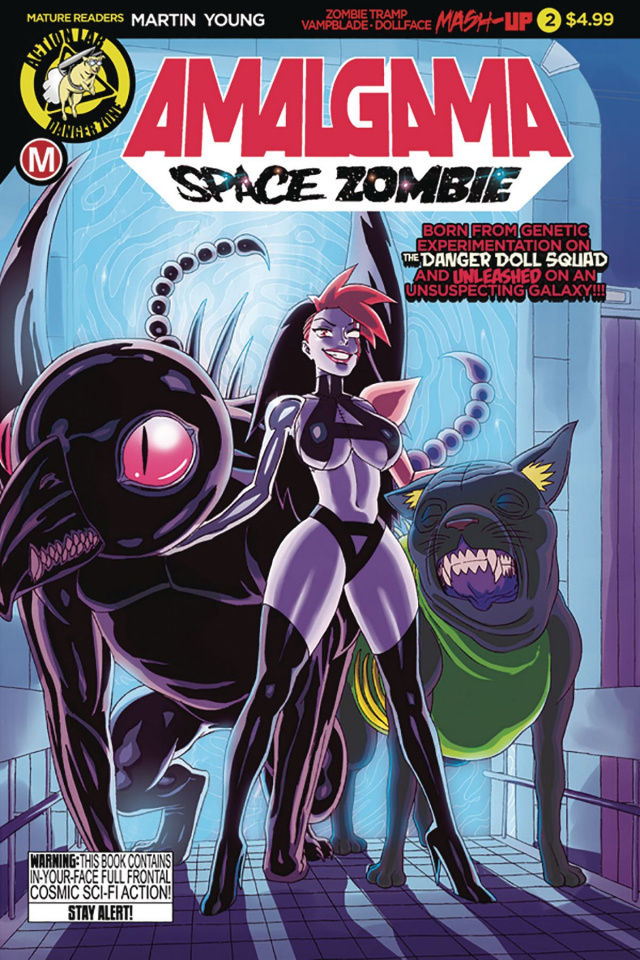 Amalgama: Space Zombie #2 (Young Cover)