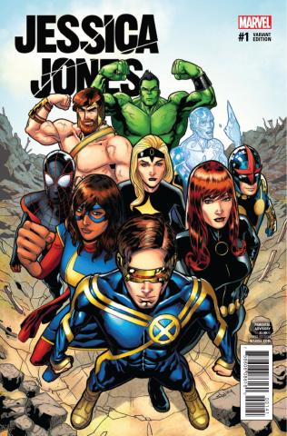 Jessica Jones #1 (Champions Cover)