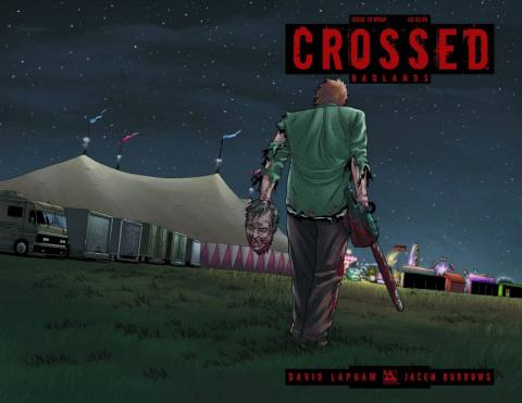 Crossed: Badlands #10 (Wrap Cover)
