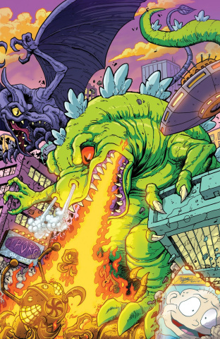 Rugrats: R is for Reptar 2018 Special #1 (10 Copy Frank Cover)