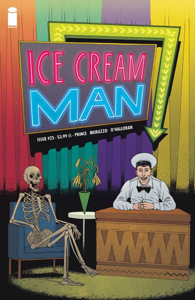 Ice Cream Man #23 (Morazzo & O'Halloran Cover)
