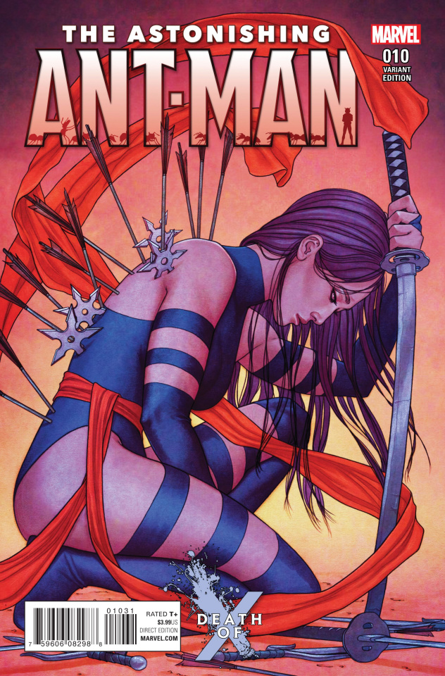 Astonishing Ant-Man #10 (Frison Death of X Cover)
