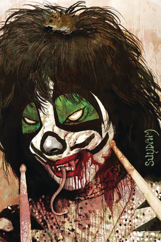 KISS: Zombies #4 (Suydam Virgin Cover)