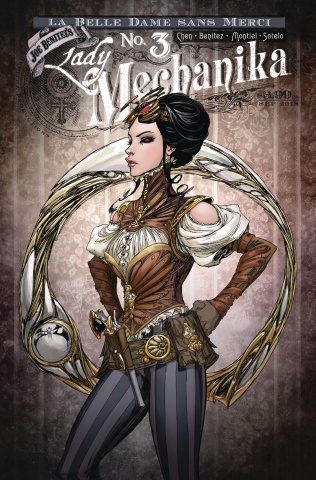 Lady Mechanika: Dame Sans Merci #3 (Variant Cover)