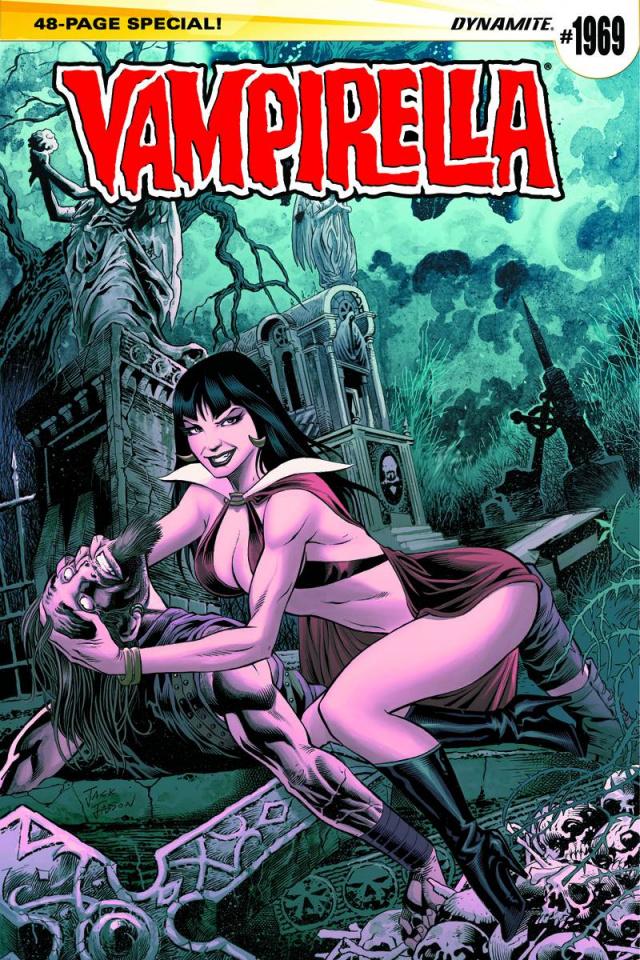 Vampirella #1969 (Jadson Cover)
