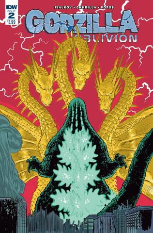 Godzilla: Oblivion #2