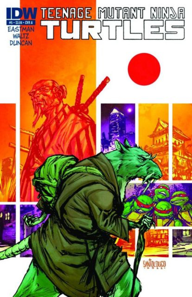 Teenage Mutant Ninja Turtles #5 (Global Conquest Edition)