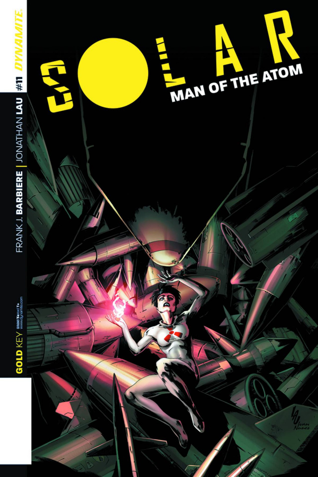 Solar: Man of the Atom #11 (Lau Subscription Cover)