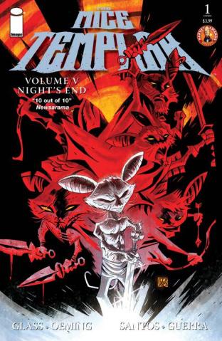 The Mice Templar: Night's End #1 (Santos & Free Cover)