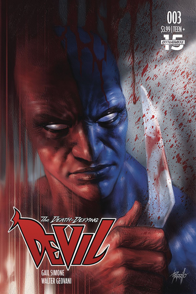 The Death-Defying Devil #3 (Parrillo Cover)