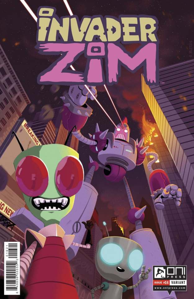 Invader Zim #16 (Variant Cover)
