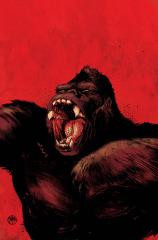 Kong of Skull Island #1 (Auction Pope Cover)