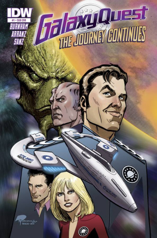 Galaxy Quest: The Journey Continues #1 (Subscription Cover)