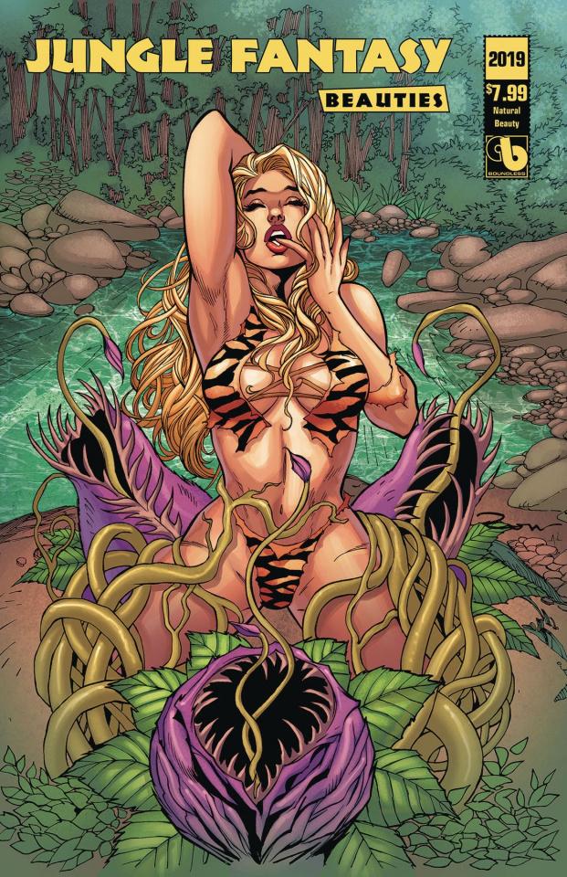 Jungle Fantasy Beauties 2019 (Natural Beauty Cover)