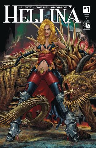 Hellina #1 (Costume Change Cover)