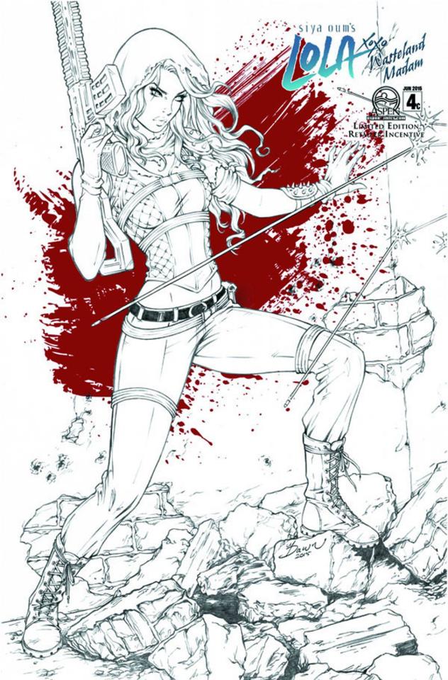 Lola XOXO: Wasteland Madam #4 (10 Copy Cover)