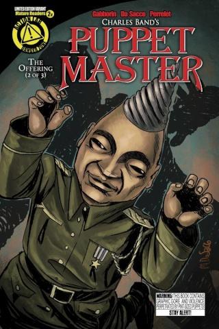 Puppet Master #2 (Tunneler Cover)