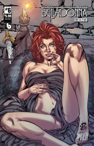 Belladonna: Fire and Fury #6 (Killer Body Cover)