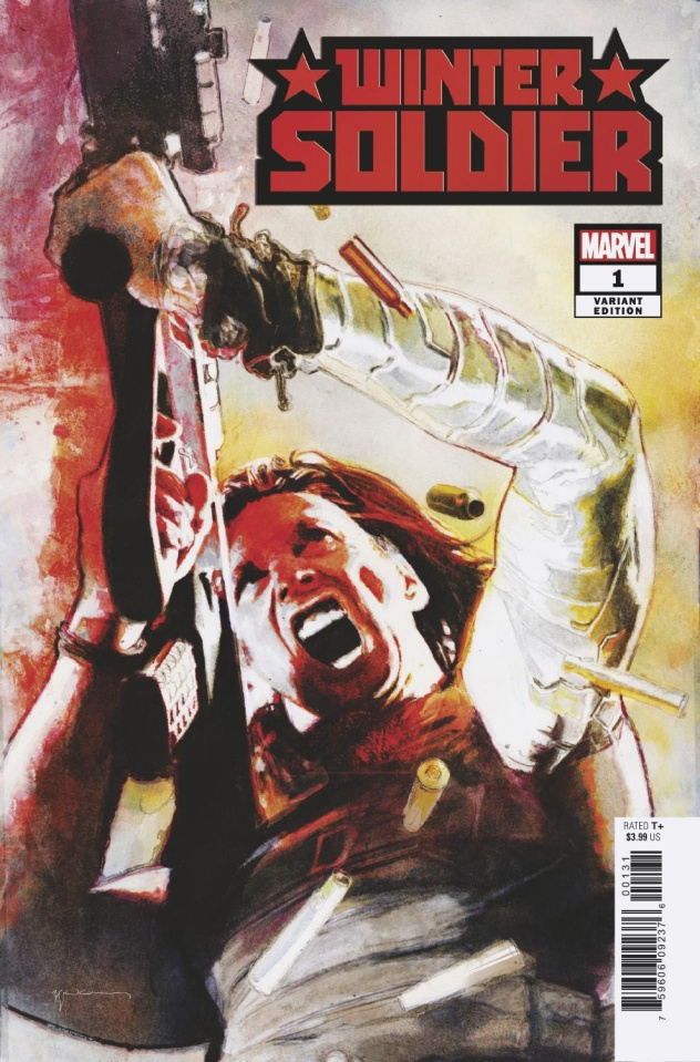 Winter Soldier #1 (Sienkiewicz Cover)