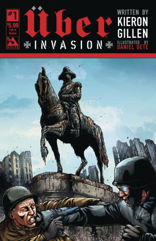 Über: Invasion #1 (Fall of Boston Cover)