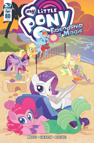 My Little Pony: Friendship Is Magic #80 (10 Copy Forstner Cover)
