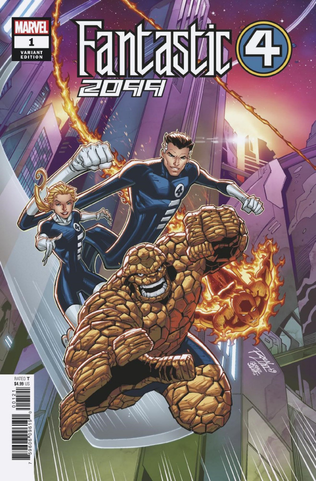 Fantastic Four 2099 #1 (Ron Lim Cover)