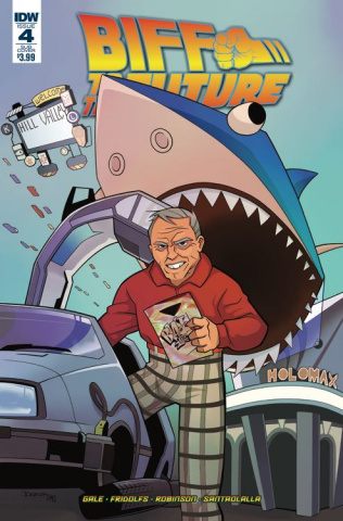 Back to the Future: Biff to the Future #4 (Subscription Cover)