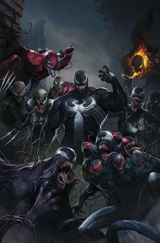 Edge of Venomverse #1 (Mattina Teaser Cover)