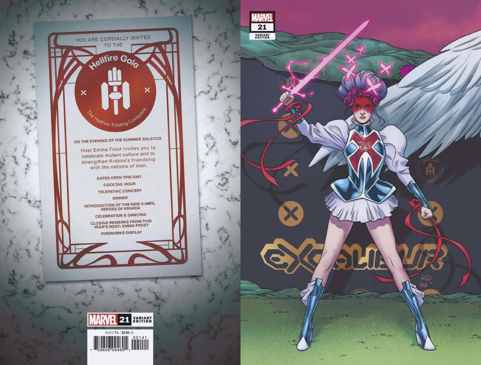 Excalibur #21 (Dauterman Connecting Cover)