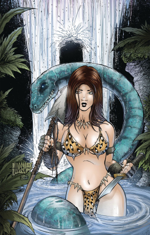 Cavewoman: The Dragon #1 (Mangum Cover)