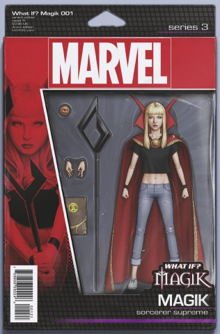 What If? Magik #1 (Christopher Action Figure Cover)