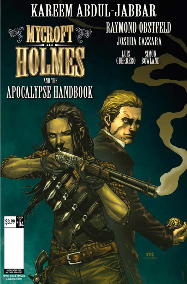 Mycroft Holmes #4 (Cassara Cover)
