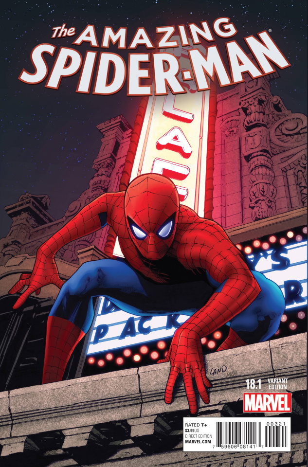 The Amazing Spider-Man #18.1 (Land Cover)