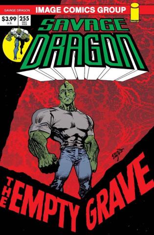 Savage Dragon #255 (Retro '70s Trade Dress Cover)