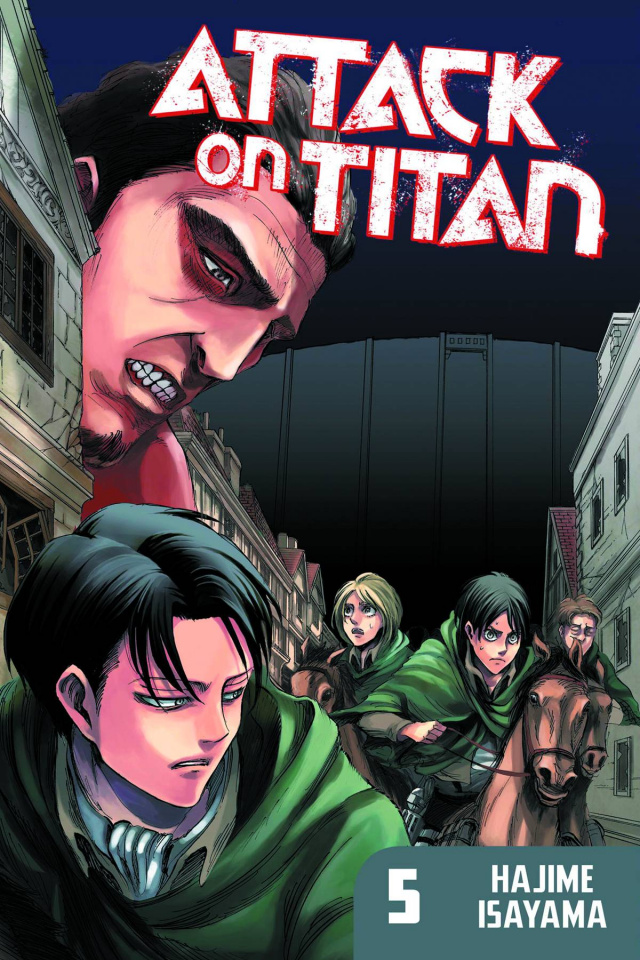 Attack on Titan Vol. 5