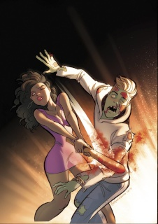 Hollywood: Zombie Apocalypse #2 (Andolfo Cover)