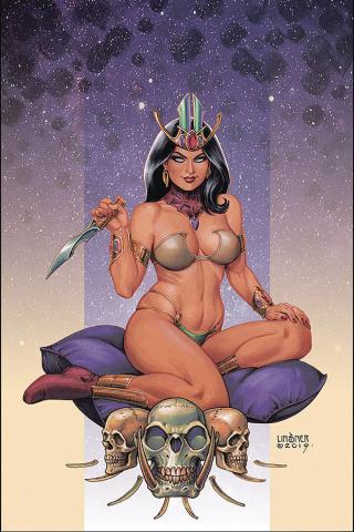 Dejah Thoris #3 (Linsner Virgin Cover)
