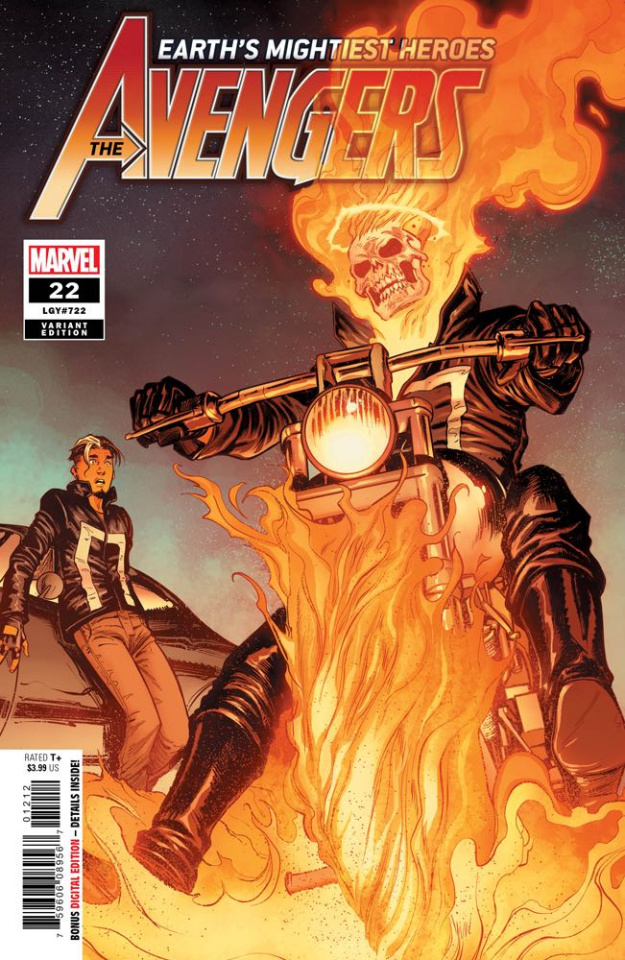 Avengers #22 (2nd Printing Caselli Cover)