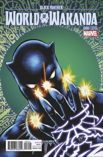 Black Panther: World of Wakanda #6 (Velluto Cover)