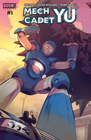 Mech Cadet Yu #5 (Subscription To Cover)