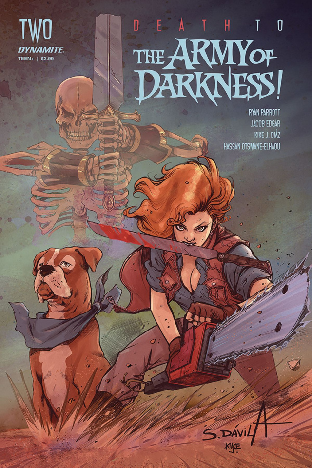 Death to the Army of Darkness #2 (Davila Cover)