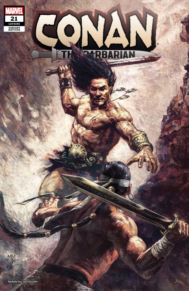 Conan the Barbarian #21 (Mastrazzo Cover)
