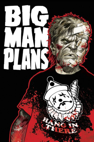 Big Man Plans #4 (Powell Cover)